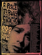 Poster from US Tour with Big Pink