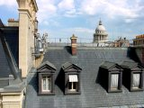 Rooftops near Sorbonne, Paris, France